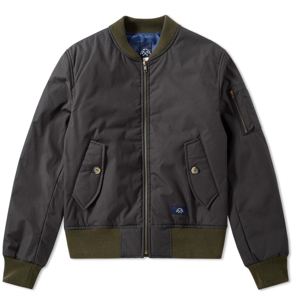 Photo: Bleu de Paname Classic Bomber Jacket