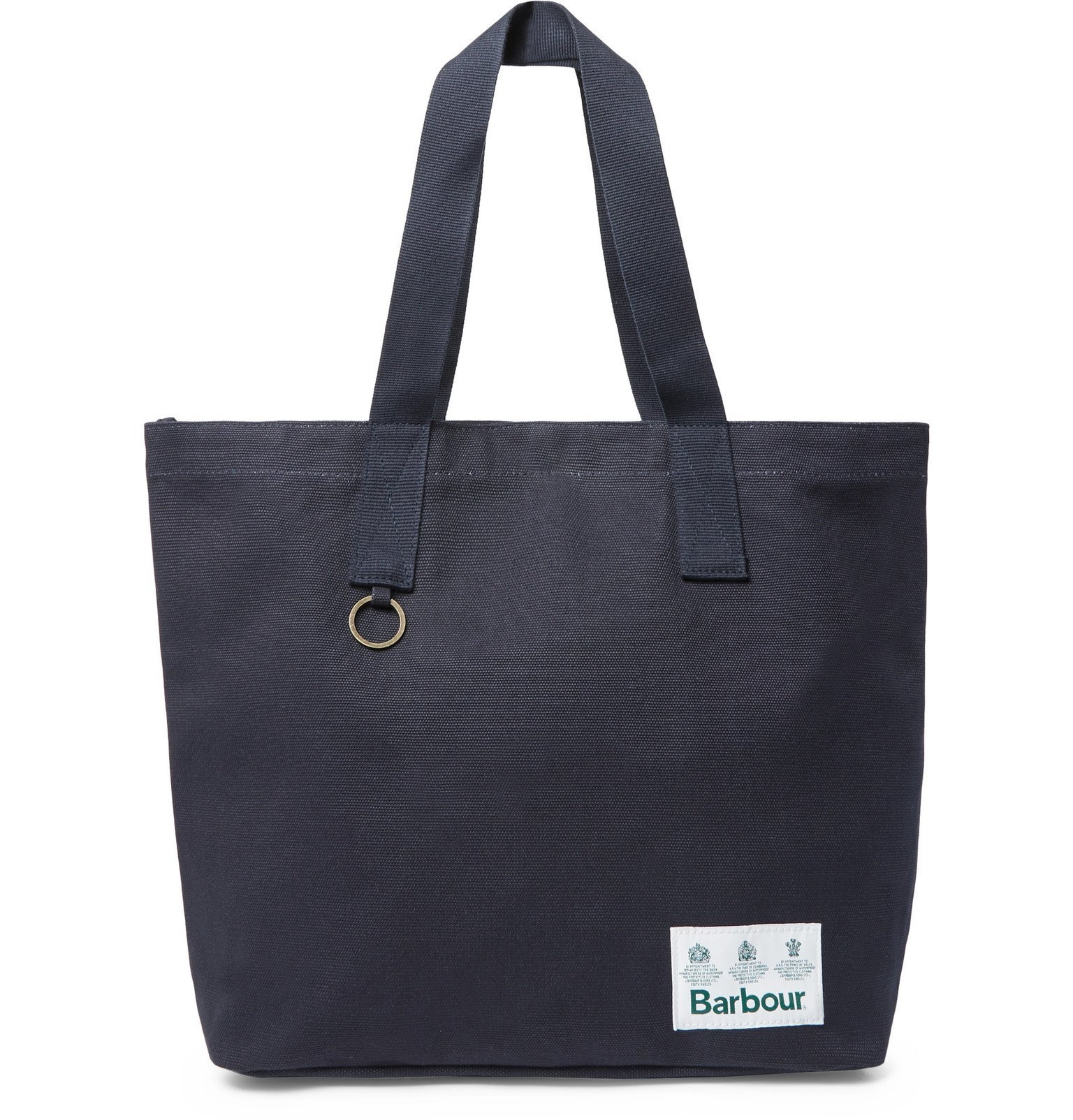 Photo: Barbour - White Label Cotton-Canvas Tote Bag - Blue