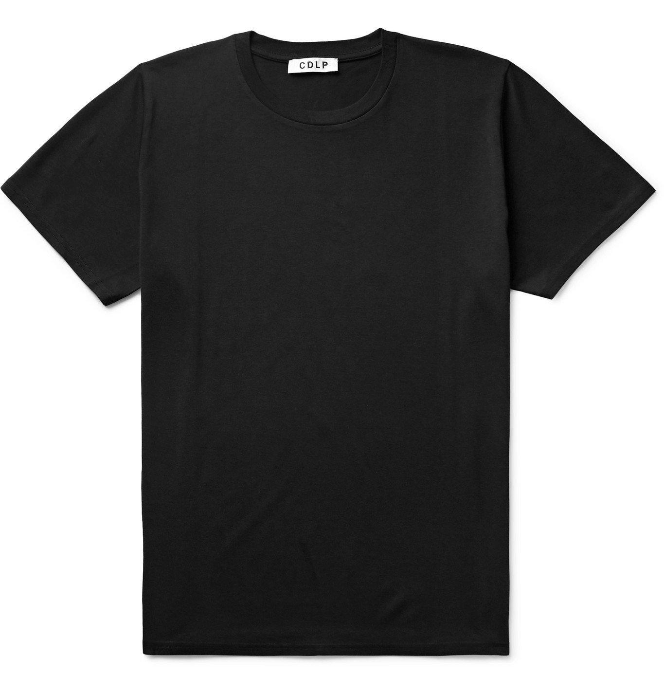 Photo: CDLP - Lyocell and Pima Cotton-Blend T-Shirt - Black