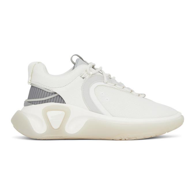 Photo: Balmain White B Runner Sneakers