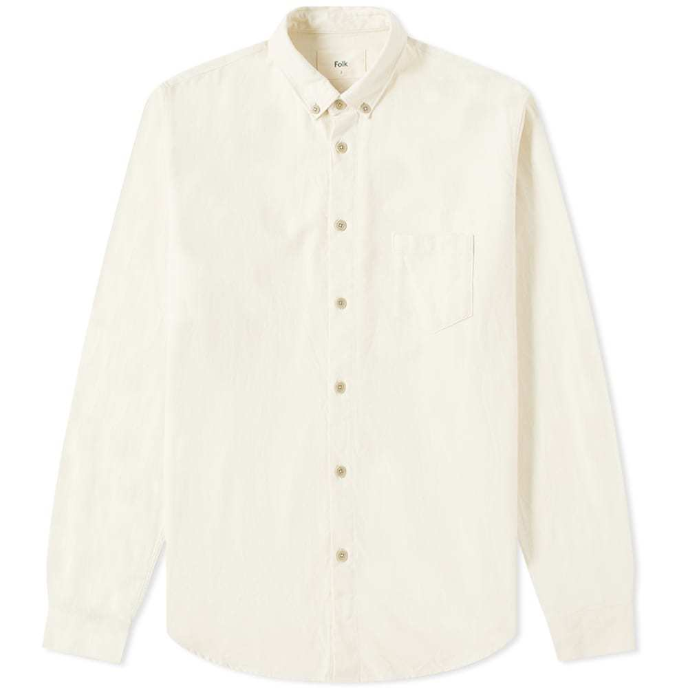 Photo: Folk Relaxed Fit Button Down Shirt