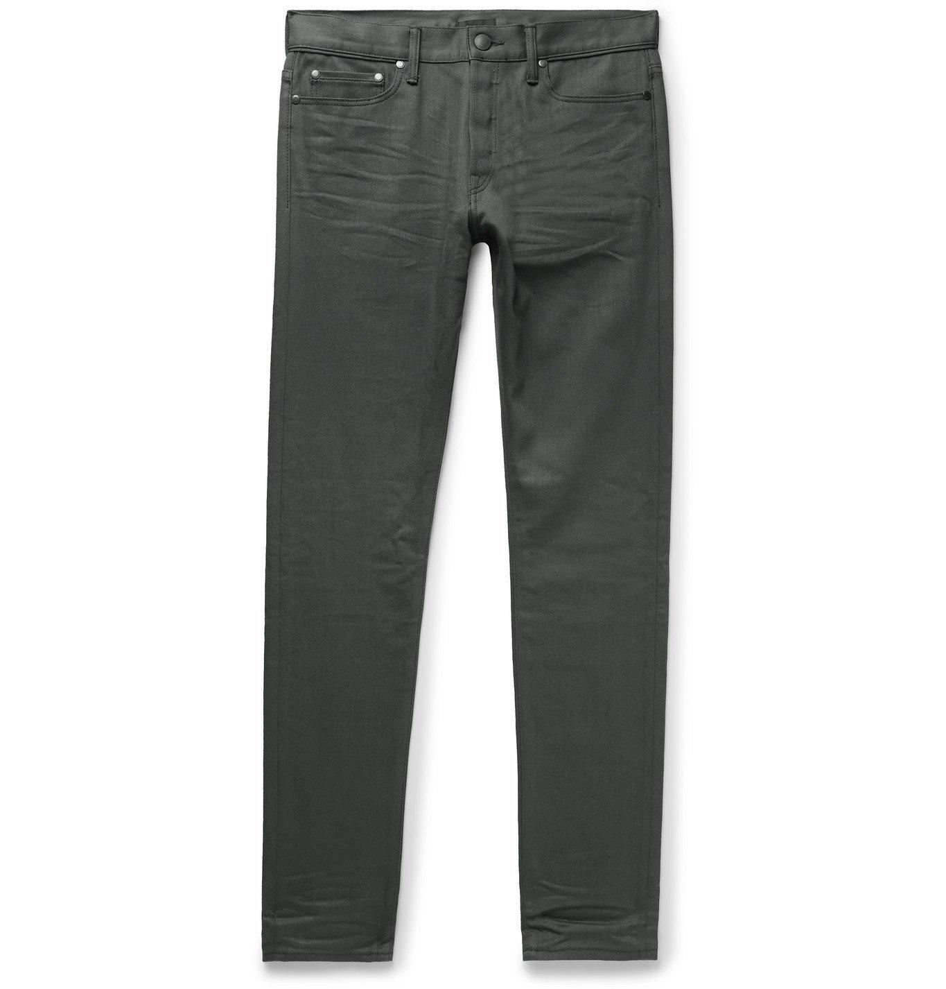 Photo: John Elliott - The Cast 2 Slim-Fit Denim Jeans - Gray