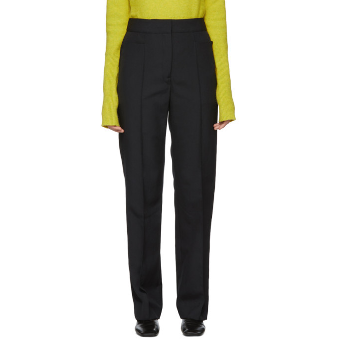Photo: Lemaire Black Wool Suit Trousers