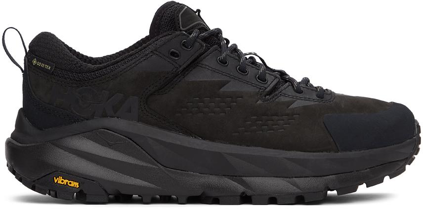 Photo: Hoka One One Black Kaha Gore-Tex Low Sneakers