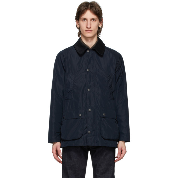 Photo: Barbour Navy Bedale Tech Casual Jacket