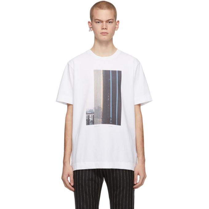Photo: 1017 ALYX 9SM White Ex Nihilo Building T-Shirt