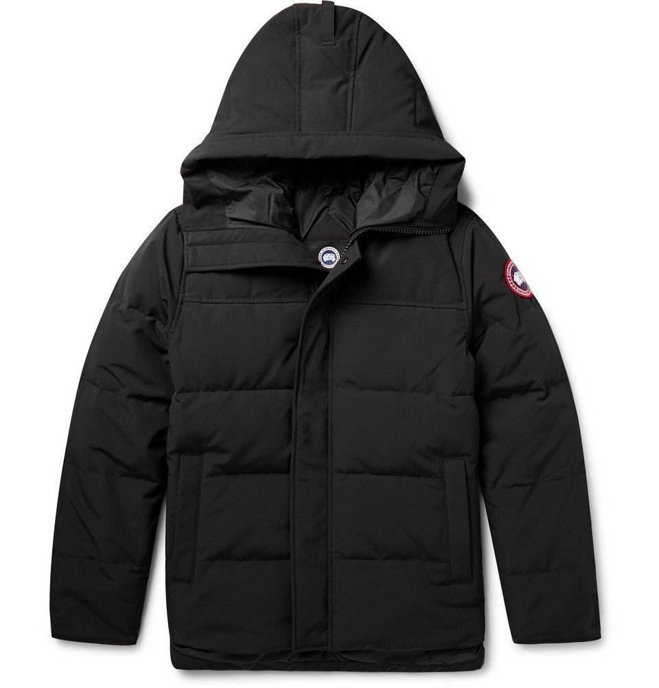 Photo: Canada Goose - Macmillan Quilted Shell Hooded Down Parka - Men - Black