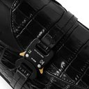 1017 ALYX 9SM - Croc-Effect Leather Loafers - Black