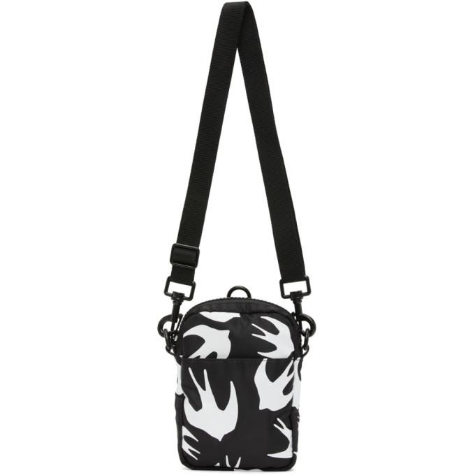 Photo: McQ Alexander McQueen Black Swallows Crossbody Bag