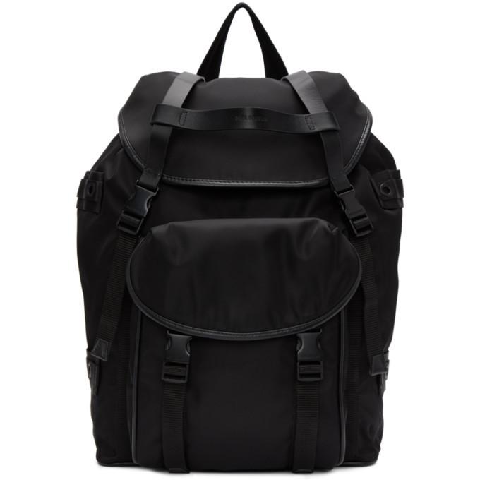 Photo: Neil Barrett Black Military-Style Slime Backpack