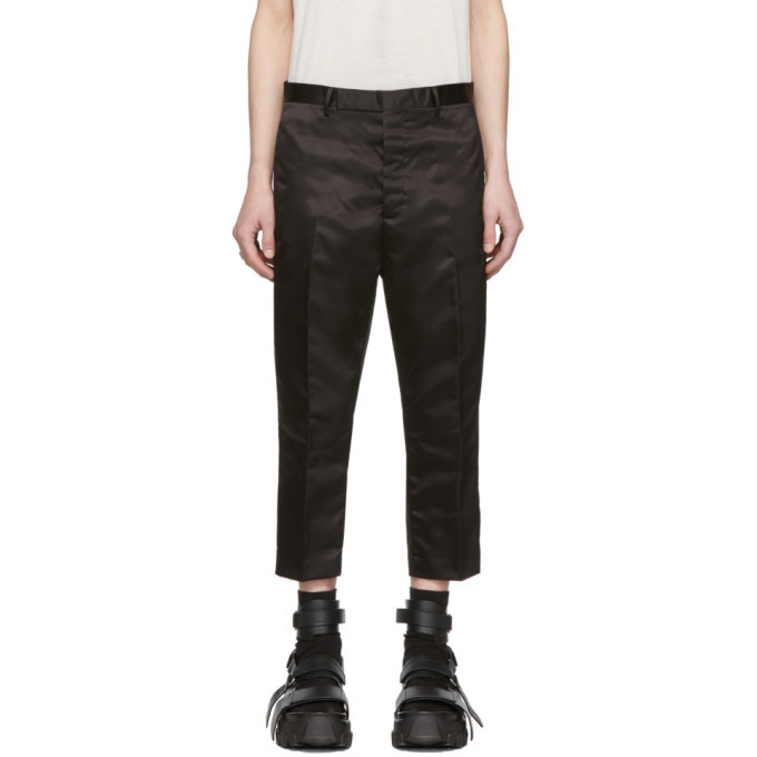 Photo: Rick Owens Black Astaires Cropped Trousers