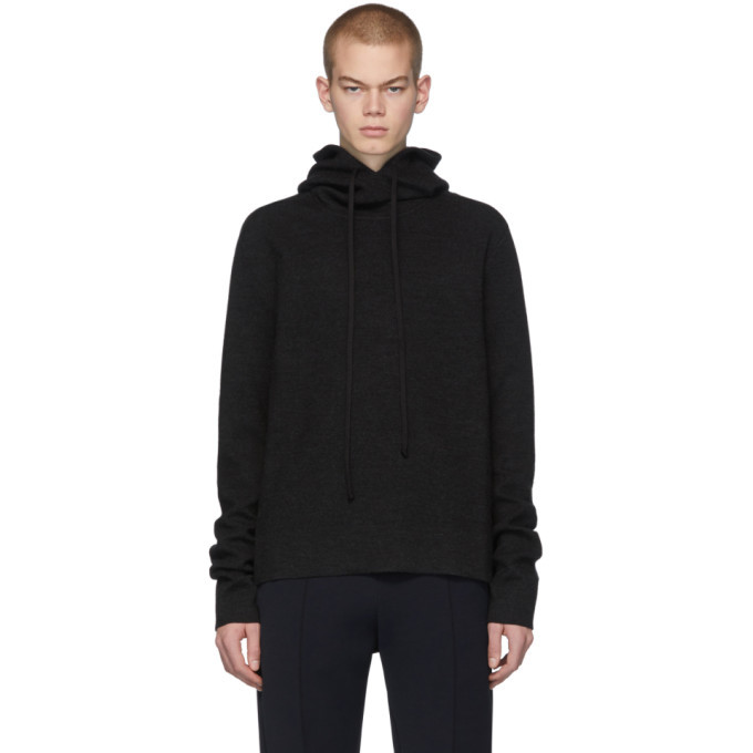 Photo: Bottega Veneta Grey Merino Hoodie