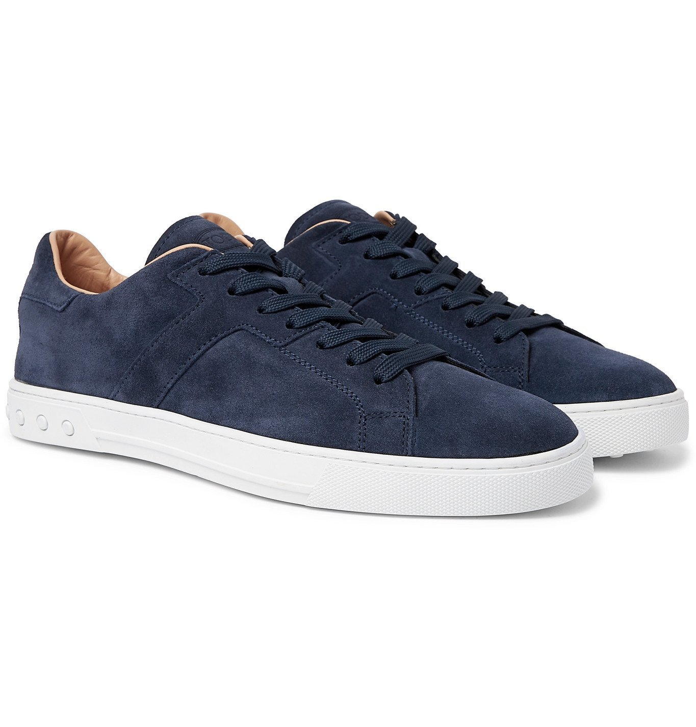 Photo: TOD'S - Suede Sneakers - Blue