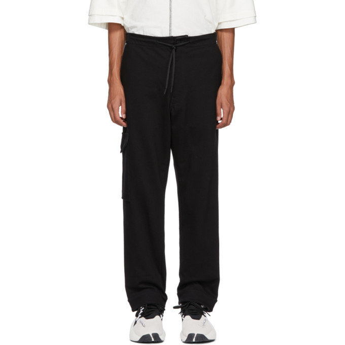 Photo: Y-3 Black Utility Cargo Pants