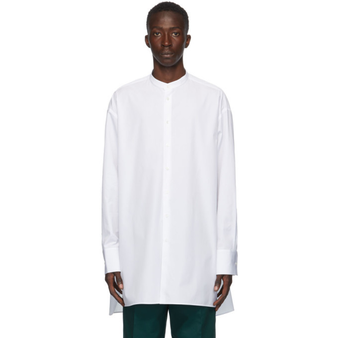 Photo: Jil Sander White Poplin Sunday Shirt