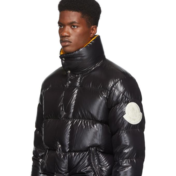 Moncler Genius 2 Moncler 1952 Black Down Dervaux Jacket