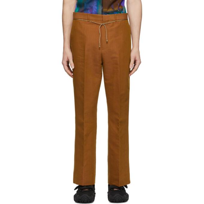 Photo: Acne Studios Orange Bootcut Trousers
