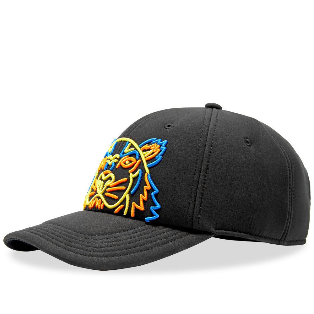Photo: Kenzo Neon Neoprene Tiger Cap Black