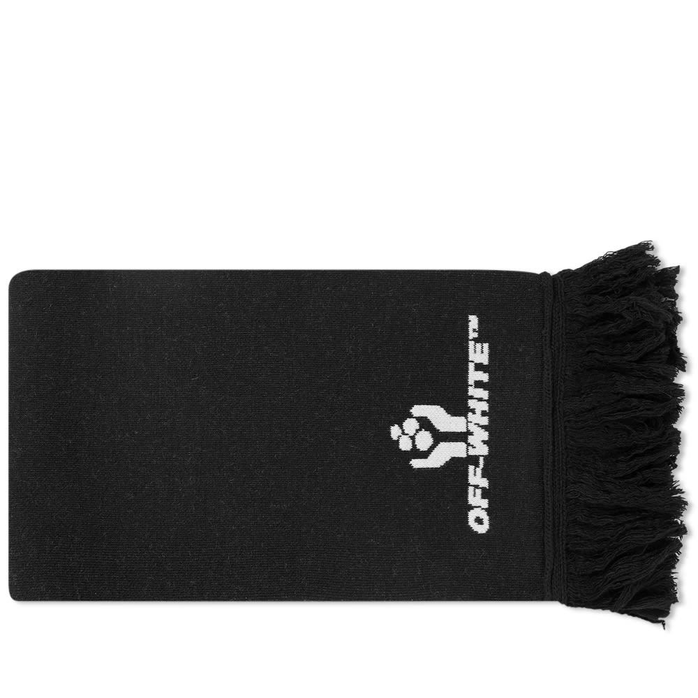 Photo: Off-White Hands Logo Scarf