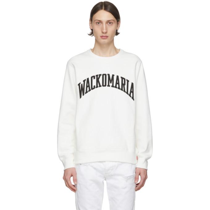 Photo: Wacko Maria White Heavyweight Logo Sweatshirt