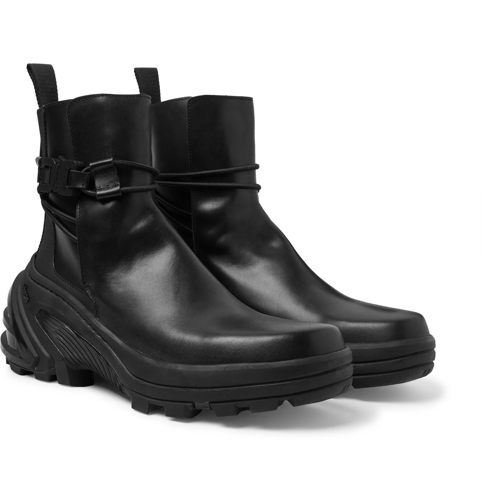 Photo: 1017 ALYX 9SM - Leather Chelsea Boots - Black