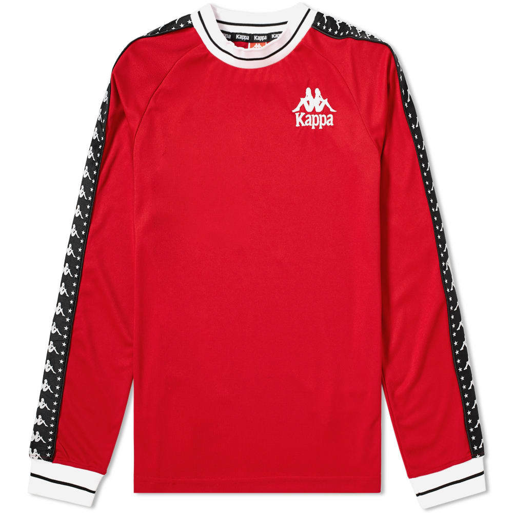 Photo: Kappa Long Sleeve Authentic Star Aneat Tee