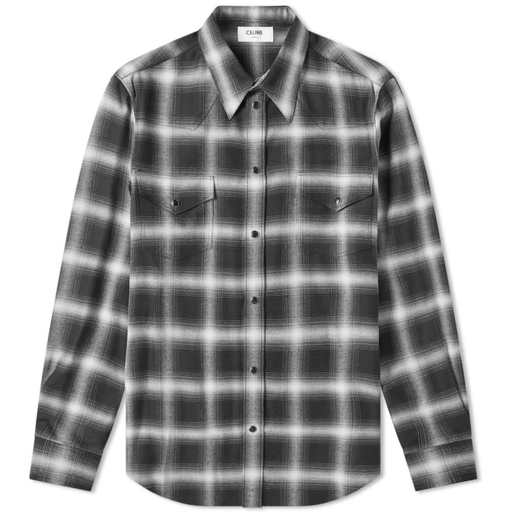Photo: Celine Ghost Check Western Shirt