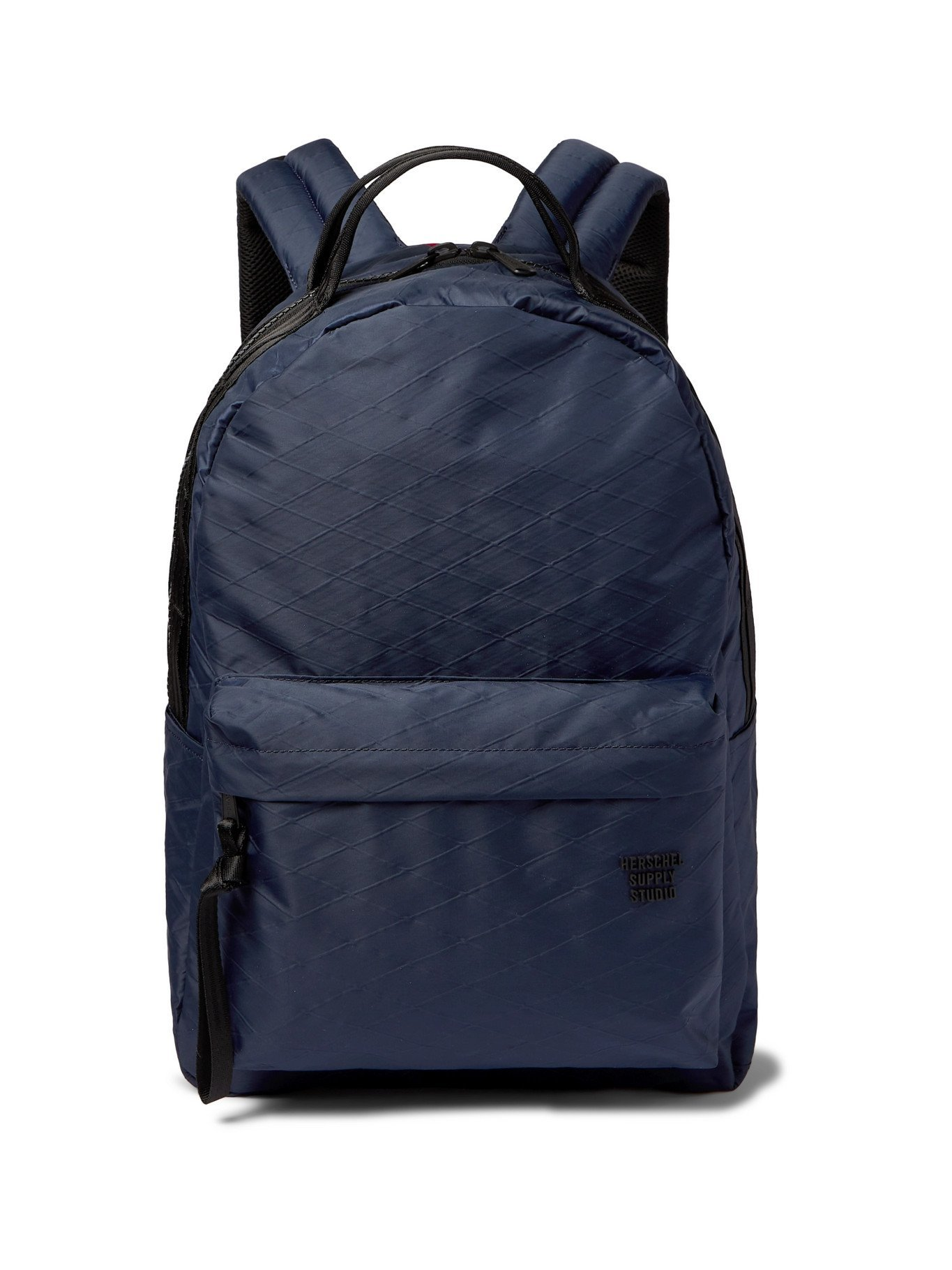 Photo: HERSCHEL SUPPLY CO - Classic Shell-Jacquard Backpack - Blue
