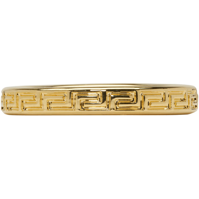 Photo: Versace Gold Band Ring