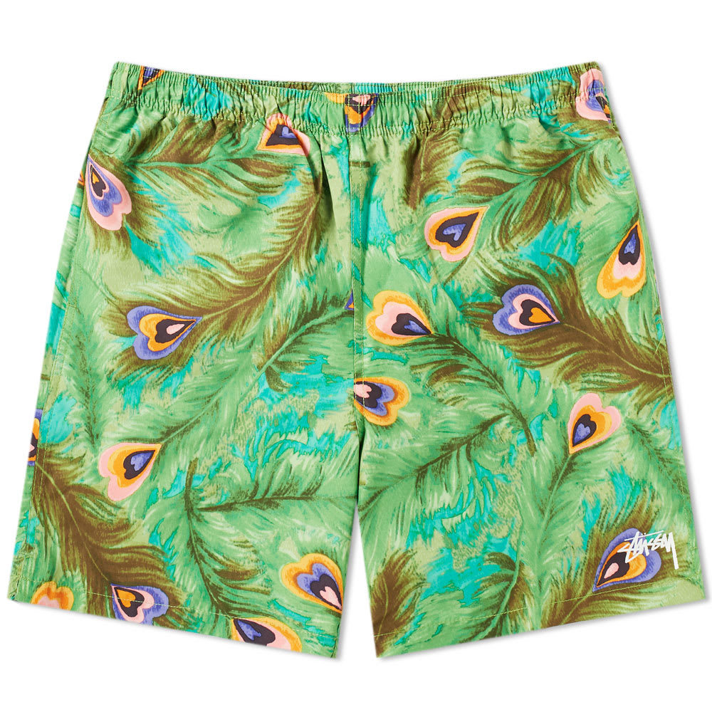 Photo: Stussy Peacock Water Short