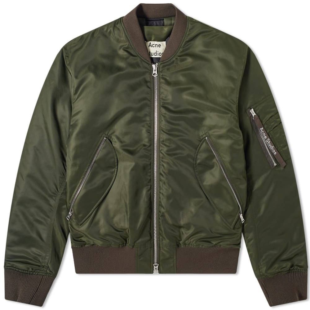 Photo: Acne Studios Makio Ma-1 Jacket