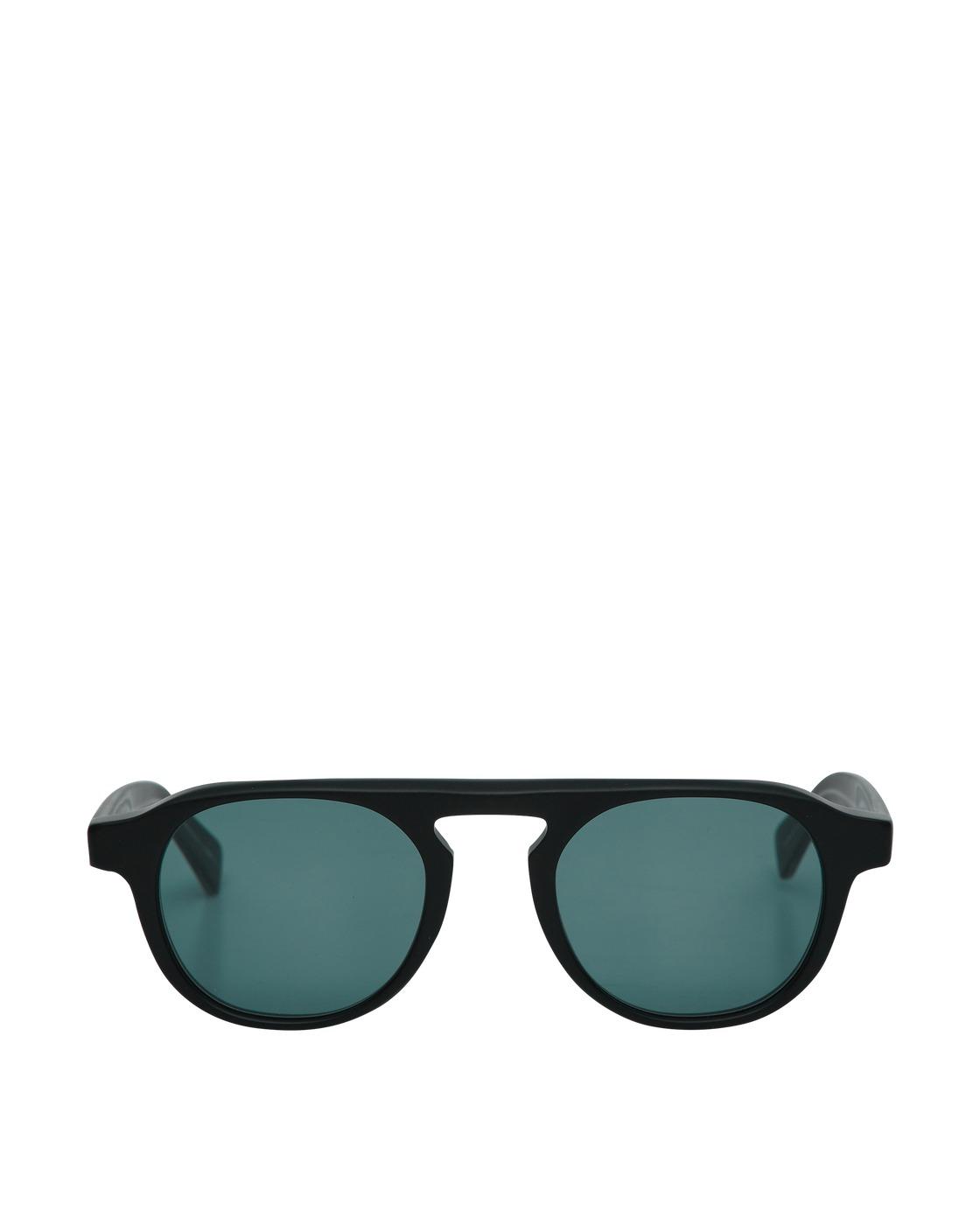 Photo: Garrett Leight Harding Sunglasses Matblack/Valley View