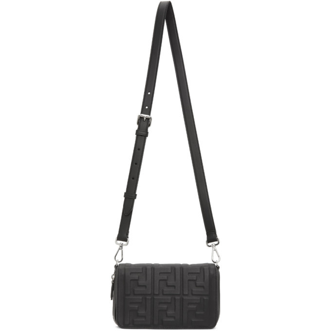 Photo: Fendi Black Forever Fendi Flap Bag