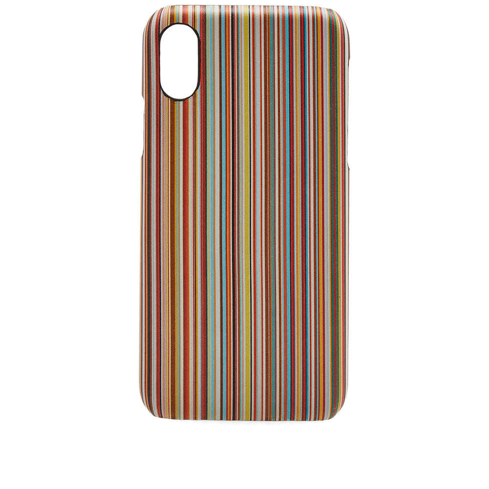Photo: Paul Smith Striped iPhone X Case