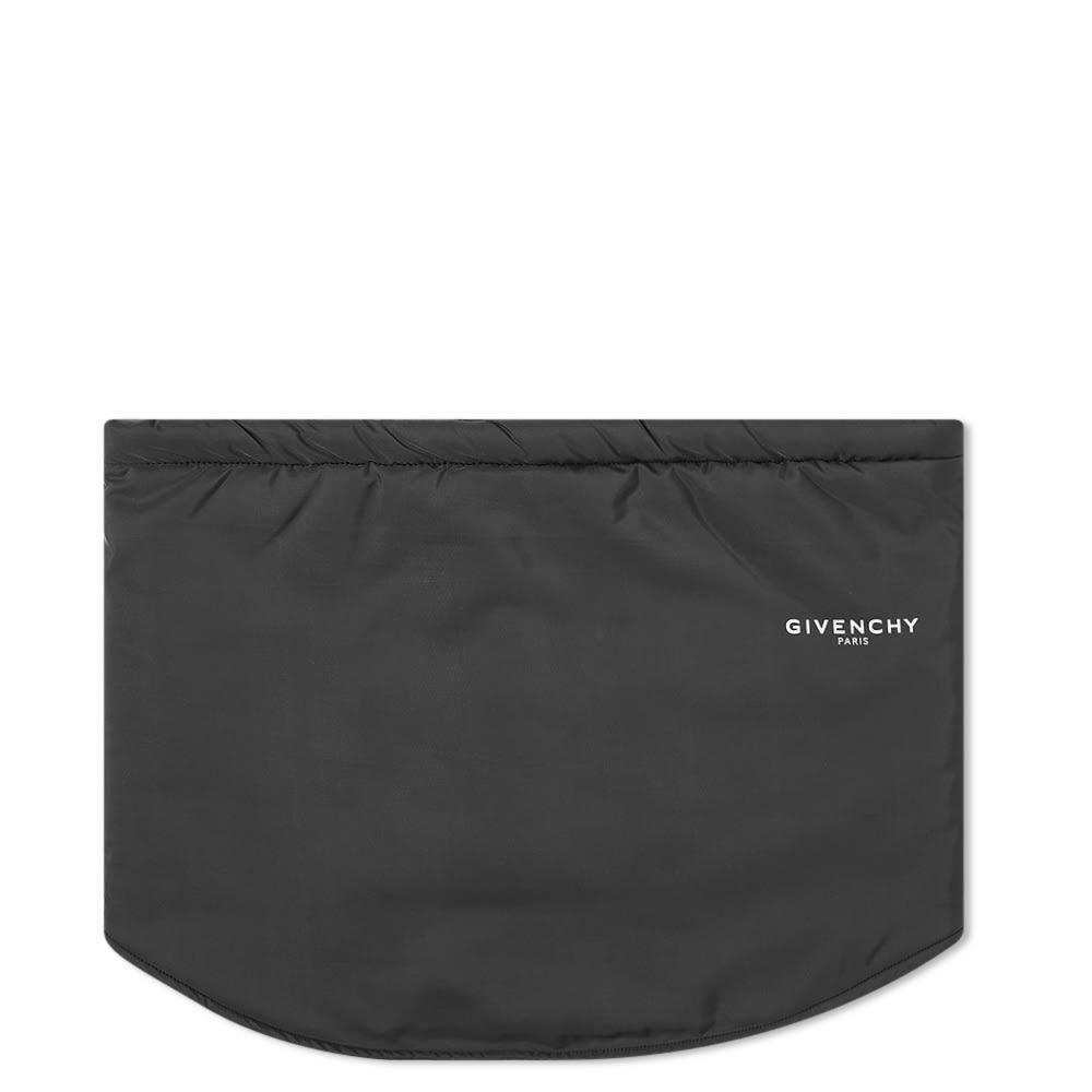 Photo: Givenchy Logo Fleece Gaiter Scarf