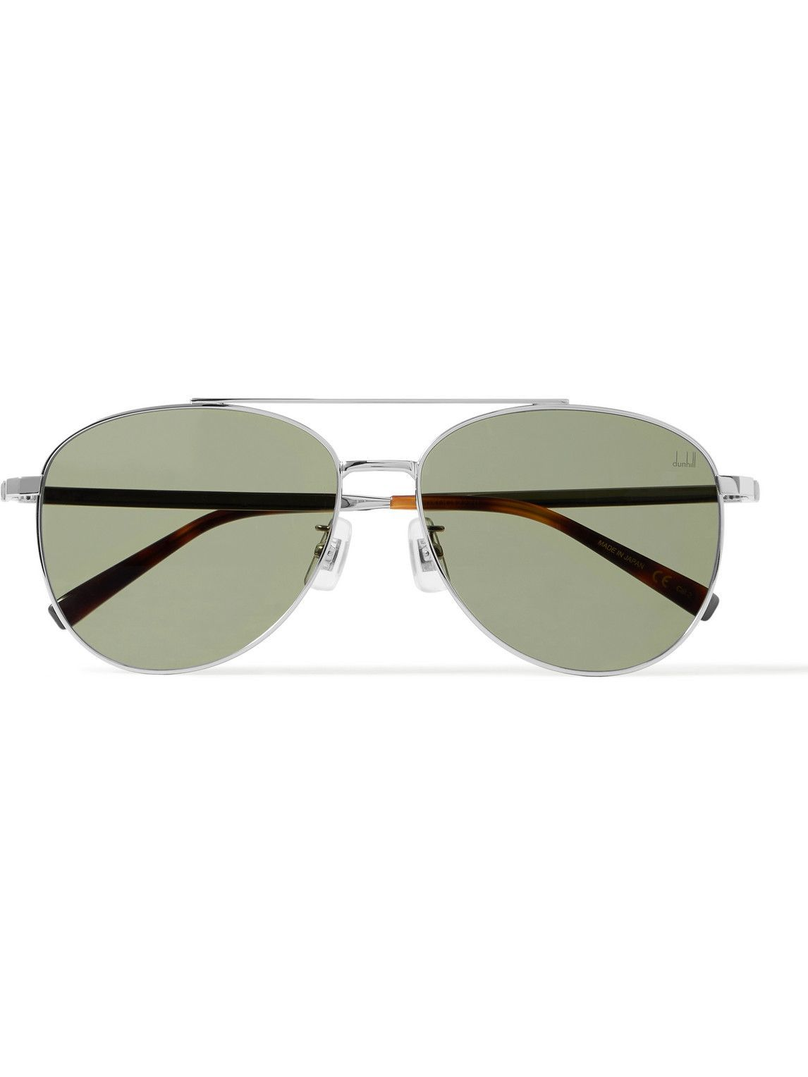 Photo: Dunhill - Aviator-Style Metal Sunglasses