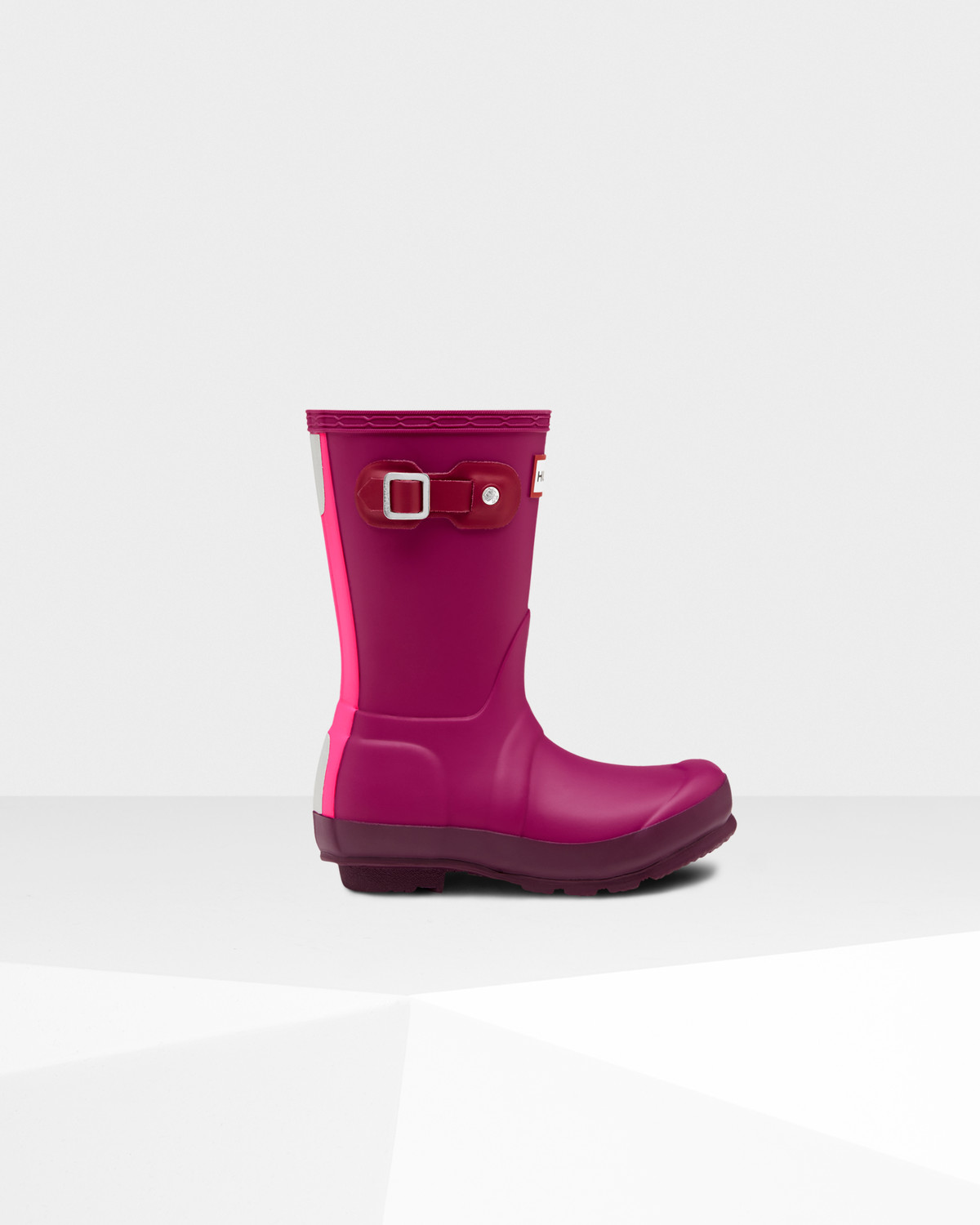 Photo: Original Kids' Contrast Sole Rain Boots