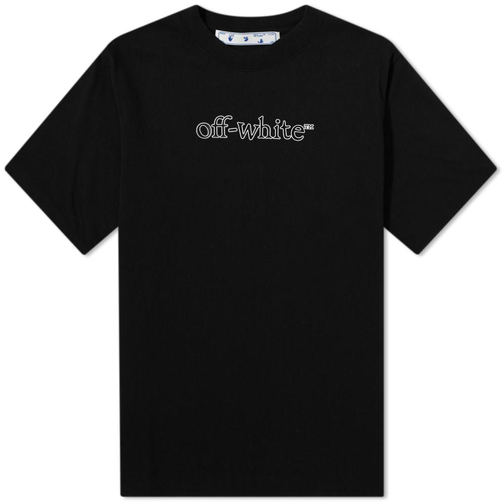 Photo: Off-White Slanted Logo Skate Tee