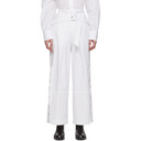 3.1 Phillip Lim White Belted Utility Snap Trousers
