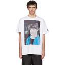 Raf Simons White Christiane F. Detlef T-Shirt