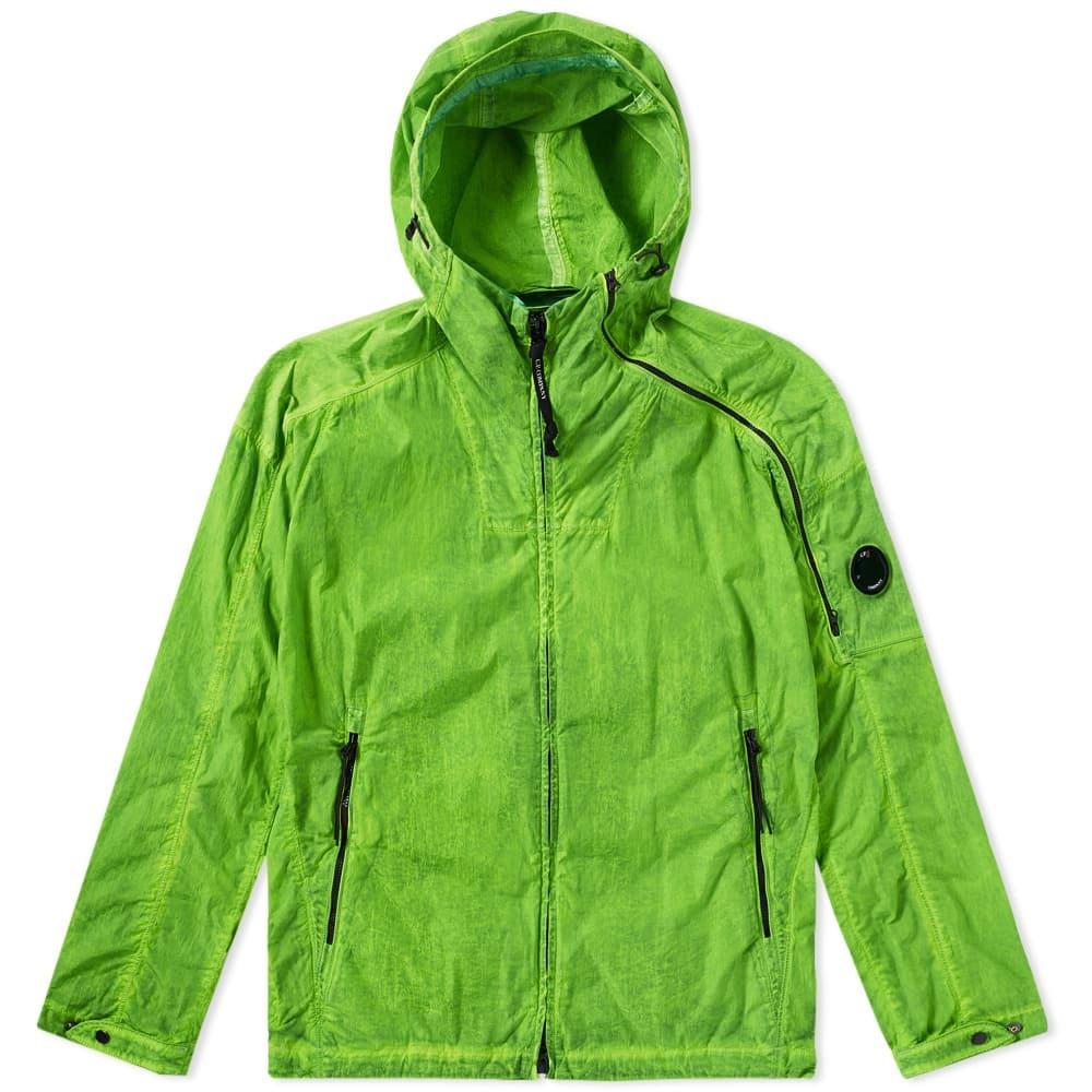 Photo: C.P. Company Chrome Hooded Jacket Green
