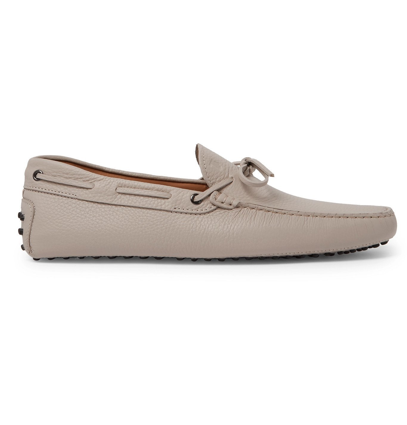 Tod's - Gommino Full-Grain Leather Driving Shoes - Neutrals