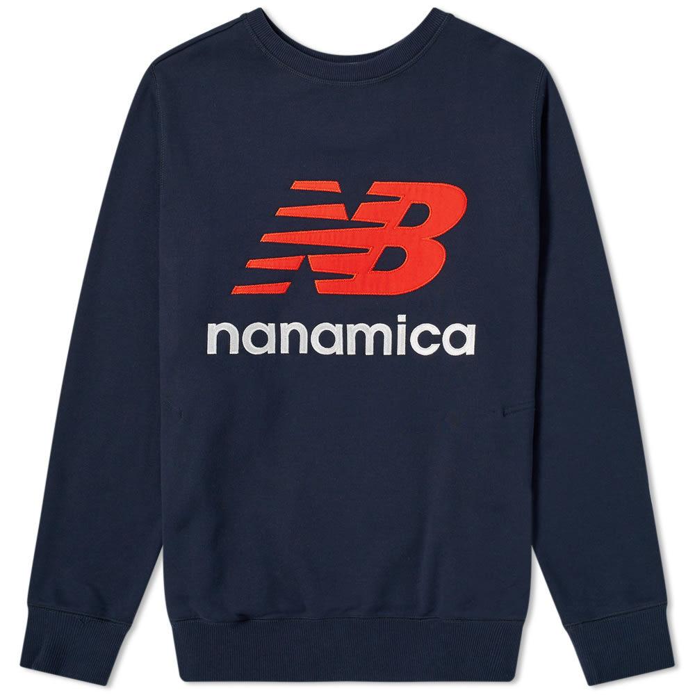 Photo: New Balance x Nanamica Coolmax Crew Sweat Eclipse