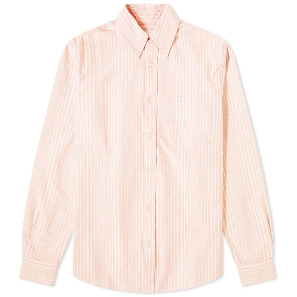 Photo: Adsum Uneven Stripe Button Down Shirt