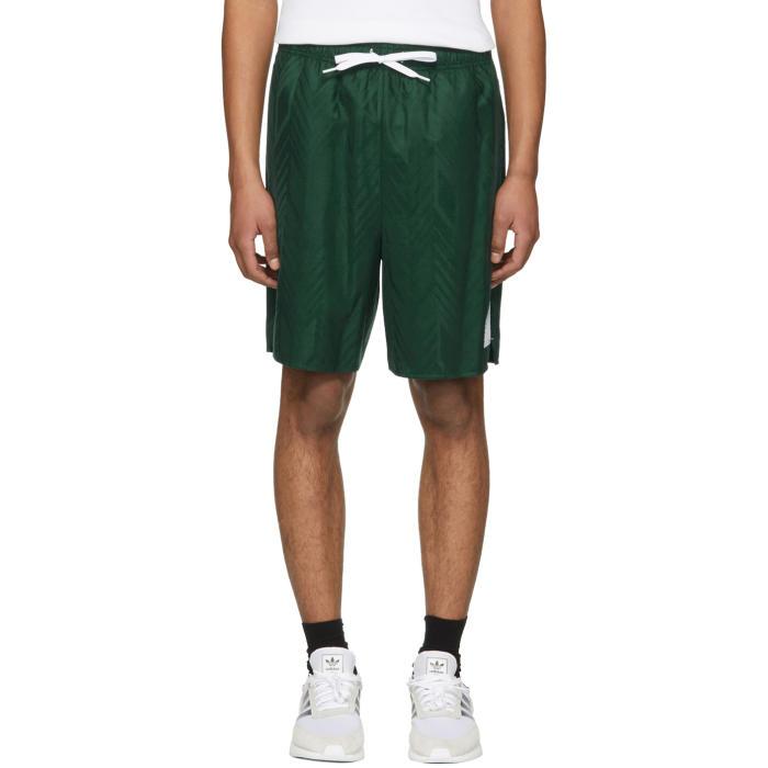 Photo: Alexander Wang Green Wool Custom Soccer Shorts