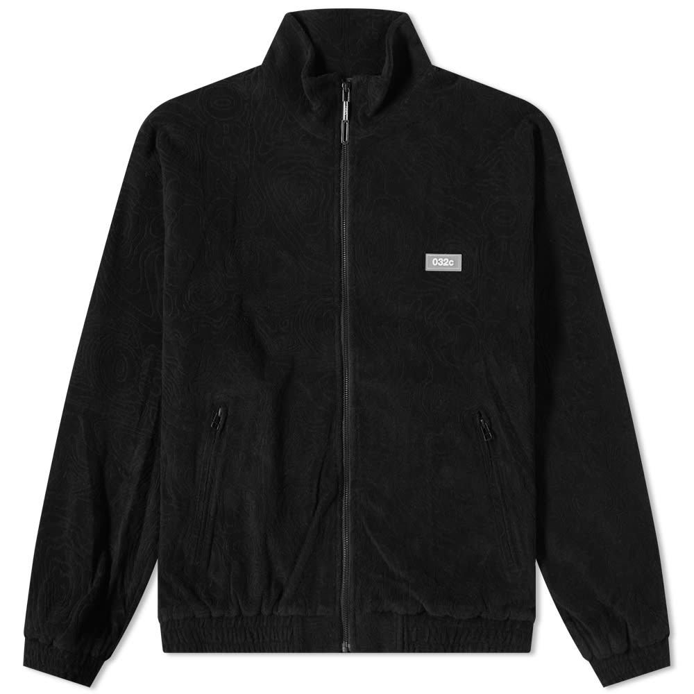 Photo: 032c Topos Shaved Terry Jacket