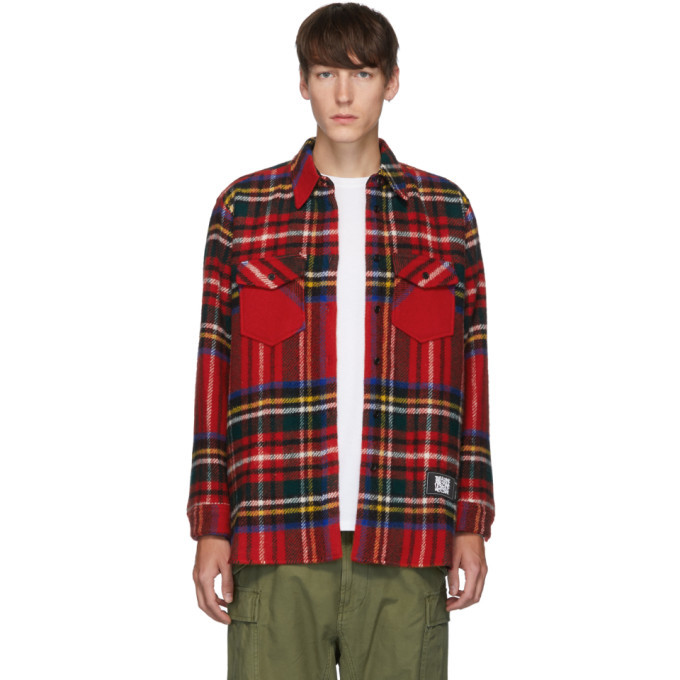 Photo: We11done Red English Check Shirt