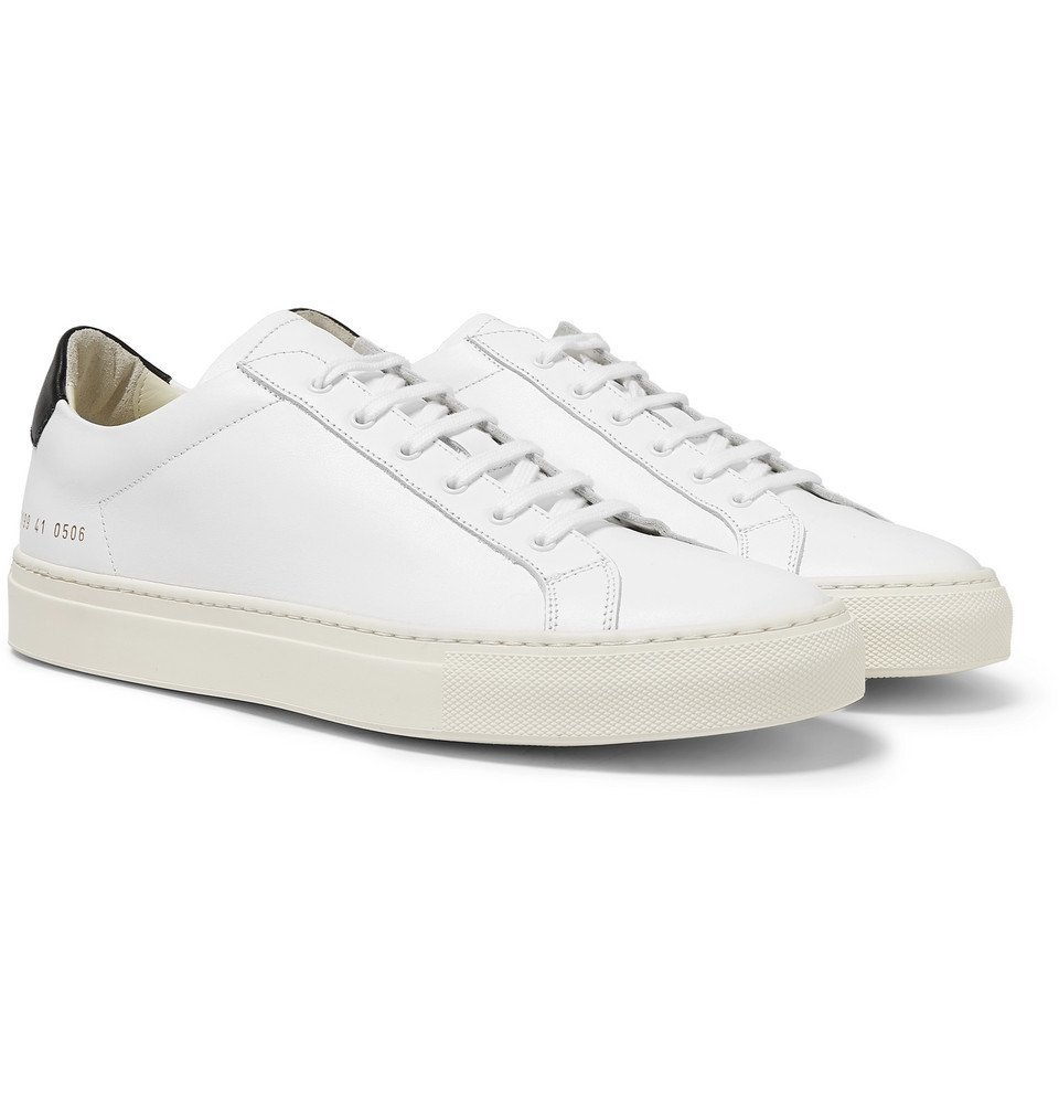 Common Projects - Achilles Retro Leather Sneakers - Men - White