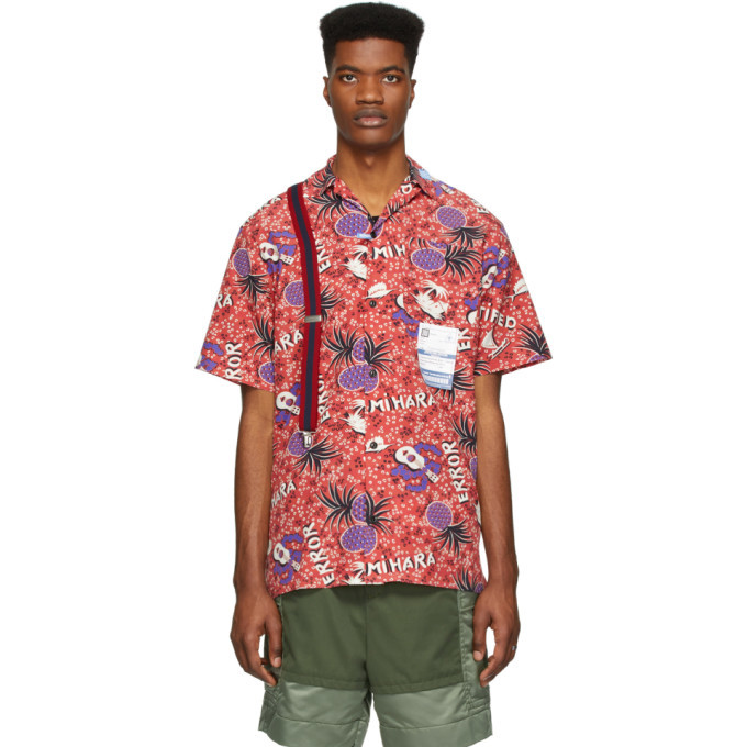 Photo: Miharayasuhiro Red Hawaiian Short Sleeve Shirt