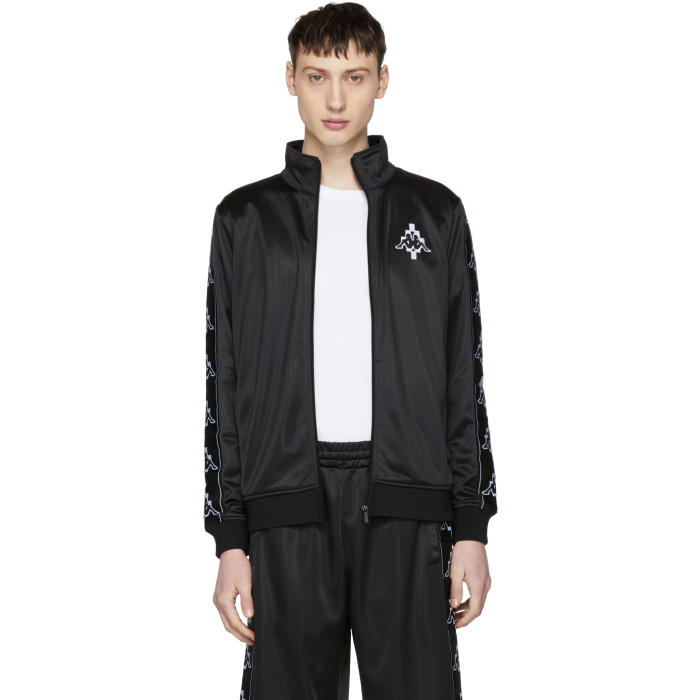 Photo: Marcelo Burlon County of Milan Black Kappa Edition Tape Track Jacket